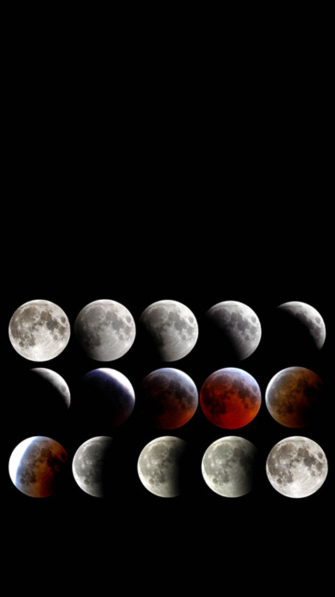 image regarding Phases of the Moon Printable known as Stages Moon Wallpaper Mobile phone - PRINTABLES
