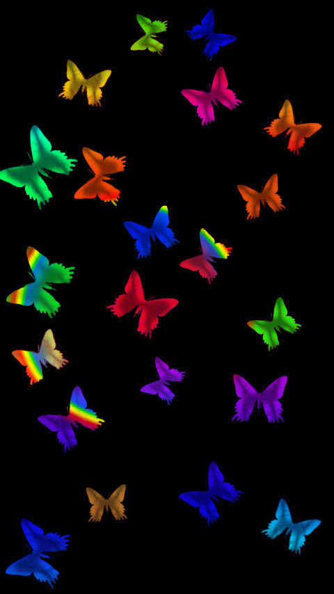 Glass Butterflies Wallpaper Phone Planet12suncom Printables