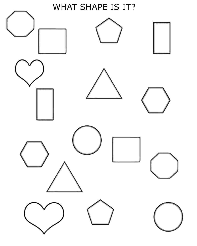 2d Shapes 1st 2nd Grade Planet12sun Com Printables